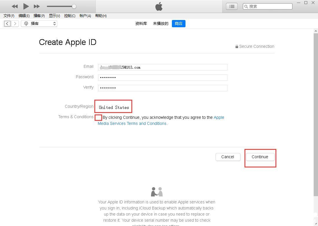 美国苹果ID注册